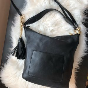 Michael Kors Purse with Gold Accents and Tassels